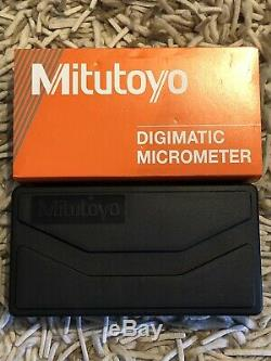 0-1 DIGIMATIC COOLANT PROOF MIC WithRATCHET IP65 MITUTOYO 293-340-30 +/. 00005