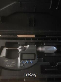 0 1 mitutoyo digital micrometer
