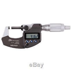 0-25mm (0-1) Mitutoyo 293-334-30 Digimatic Micrometer SPC IP65- Ratchet Thimble
