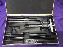 0-6in/0-150mm Mitutoyo Digital Depth Micrometer, used once in good condition