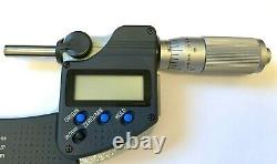 1 2.00005 DIGIMATIC OUTSIDE MICROMETER With SPC, MITUTOYO 293-336-30 NEW