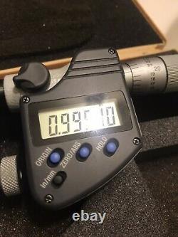 1-2 MITUTOYO 317-352-30 Digital Micrometer, Uni-Mike, SPC. 00005