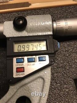 1-2 mitutoyo digital blade micrometer 422-312-10.00005 Reading