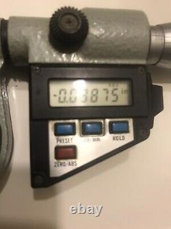 1-2 mitutoyo digital thread micrometer. 00005 Reading
