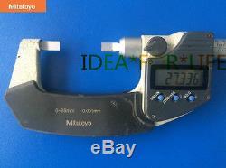 1pcs used Mitutoyo Digital Blade Micrometer 422-230 0-25mm 0.001mm #G2237 XH