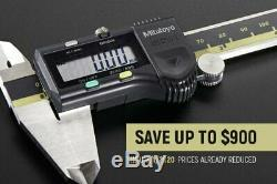 293 Series 2 to 3 SAE & Metric Digital Coolant-Proof Outside Micrometer