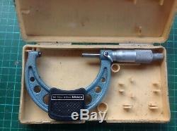 2 digital micrometers 0-25,25-50, and one standard 50-75 Mitutoyo