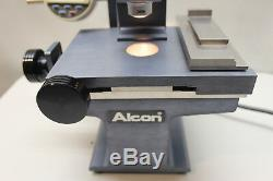 Alcon Microscope for eye surgery tool making Mitutoyo Digital Micrometer 6.5x