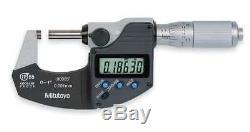 Digital Micrometer, 0 to 1, Waterproof MITUTOYO 293-348-30