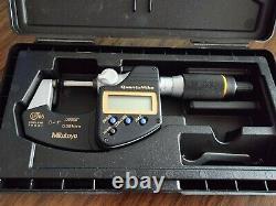 Digital Micrometer QuantuMike IP65 Inch/Metric, 0-1/0-25.4mm