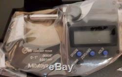 Digital Mitutoyo Digimatic micrometer 0-1 inch 0-25.4mm 293-344-30 (293-832)
