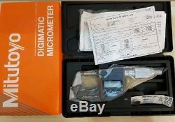 Digital Mitutoyo Digimatic micrometer 0-1 inch 0-25.4mm 293-344-30 Outside