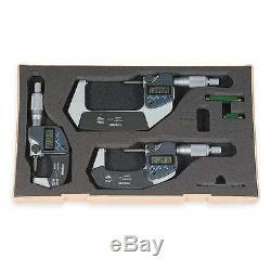 Digital Outside Micrometer Set, Mitutoyo, 293-960-30