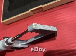 EXCELLENT DIGITAL MITUTOYO 0-1 in BLADE Outside Micrometer. 00005 In Grad(P437)