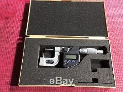 EXCELLENT MITUTOYO 0-1 DIGITAL IP65 Pipe Wall Outside Micrometer. 00005
