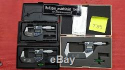 EXCELLENT MITUTOYO 0-3 Digital COOLANT PROOF IP65 Outside Micrometer. 00005 T89