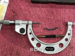 EXCELLENT MITUTOYO Digital Thread outside Micrometer 4-5 Resolution. 0001 (P290)
