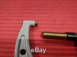 EXCELLENT MITUTOYO Digital outside Micrometer 5-6 Resolution. 0001 (P486)