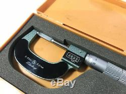 EXCELLENT Mitutoyo Digit Blade Outside Micrometer 0-25mm. Klingenmikrometer