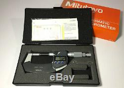 EXCELLENT Mitutoyo Digital Blade Outside Micrometer 0-25mm. Klingenmikrometer