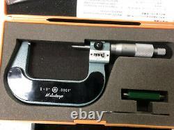 MACHINIST LATHE MILL Machinist Mitutoyo 193 213 2 3 Digital Micrometer BkCs
