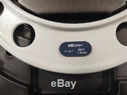 MACHINIST TOOL LATHE MILL Mitutoyo 7 8 Digital Micrometer USED