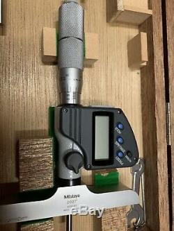 MINT MITUTOYO Digital Depth Micrometer 0-12 Inch 329-712-30