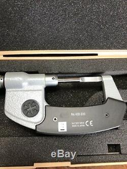 MITUTOYO 0-1 Inch DIGITAL BLADE MICROMETER NO 422-330-30 with CASE Super Clean