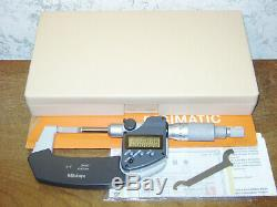 MITUTOYO 0-1 Inch DIGITAL BLADE MICROMETER NO 422-360-30 with CASE