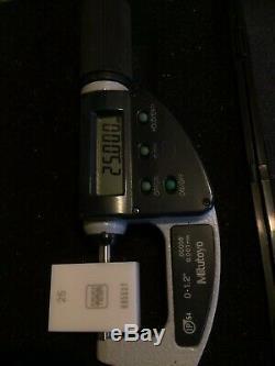 MITUTOYO 0-32mm IP 54 ABSOLUTE DIGITAL 0-1.2 INCH DIGITAL MICROMETER 293-676