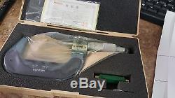 MITUTOYO 193-213 Digital Micrometer 2-3 Ratchet Stop, Standard