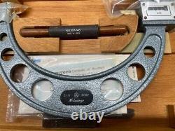 MITUTOYO 193-216 Digit Outside Micrometer, 5-6 VINTAGE