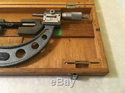MITUTOYO 193-216 Rolling Digit Outside Micrometer, 5-6 Range. 0001 Grad
