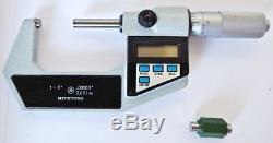 MITUTOYO 1 2 Digital Outside Micrometer. 00005 Graduations DIGIMATIC 293-706