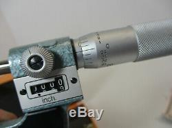 MITUTOYO # 226-137, 0 1 Thread Pitch Micrometer Digital, (7) Sets Anvils, LN