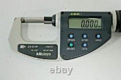 MITUTOYO 227-211 Absolute Digital Micrometer 0- 0. 6 Digital 18632