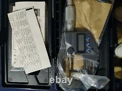 MITUTOYO 293-340-30 Digital Micrometer, 0-1 In, Ratchet
