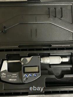 MITUTOYO 293-340 Digimatic Outside Micrometer- 1 IP65