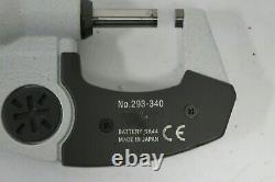 MITUTOYO 293-340 Digital Micrometer 0- 1 Digital 18630