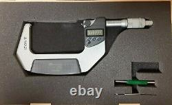 MITUTOYO 293-347-30 Electronic Micrometer, 3 to 4, 0.00005/0.001mm