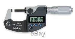 MITUTOYO 293-348-30 Digital Micrometer, 0 to 1, Waterproof