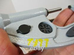 MITUTOYO # 293-677 Absolute Digimatic Micrometer, 1 2.2 x. 00005, Quickmike