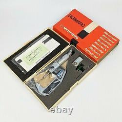 MITUTOYO 293-702 Digital Micrometer 1-2.00005.001mm NEW OLD STOCK