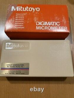 MITUTOYO 293-761-30 MDC 0-1 DIGIMATIC MICROMETER. 00005 NEW Never Used Japan