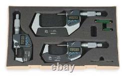 MITUTOYO 293-960-30 Micrometer Set, Digital