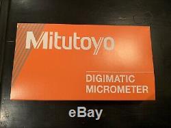 MITUTOYO 422-330-30 Digital Micrometer, Blade, 0 to 1, SPC