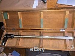 MITUTOYO 500-506-50.0005-24 0.01-600MM Digimatic Digital Caliper IN WOODEN CA