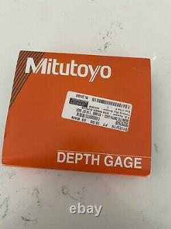 MITUTOYO 547-217S Electronic Digital Depth Gage, 0 to 8 In