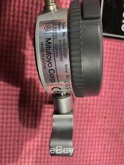 MITUTOYO 8 inch Digital depth Indicator model 547-217 2.5 In Base machinist P126
