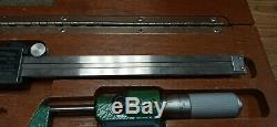 MITUTOYO DIgimatic Absolute Digital Caliper 500-196 & 293-768-30 0-1 Micrometer